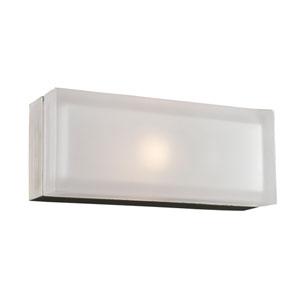 Praha Satin Nickel 5-Inch LED Wall Sconce