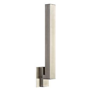 Teton Satin Nickel 8-Inch LED Wall Sconce