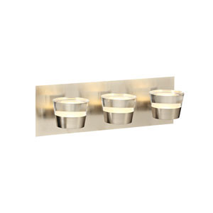 Sitra Satin Nickel 16-Inch LED Vanity