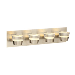 Sitra Satin Nickel 22-Inch LED Vanity