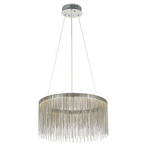 Davenport Polished Chrome 20-Inch LED Pendant