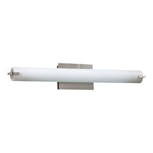 Polipo Satin Nickel 26-Inch LED Vanity