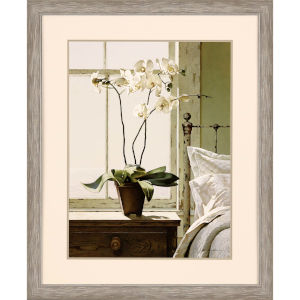 Bedside Orchid Neutral Framed Art