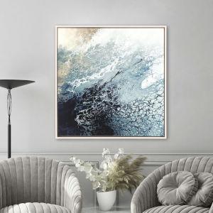 Blue 42 H x 42 W-Inch Aveta Wall Art