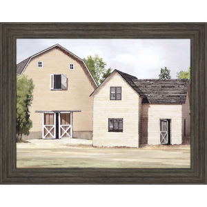 Modern Farm Multicolor Framed Art