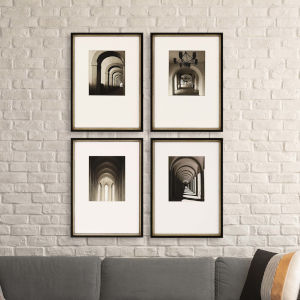 Libby Langdon Arches In Light Sepia Framed Wall Art, Set of 4