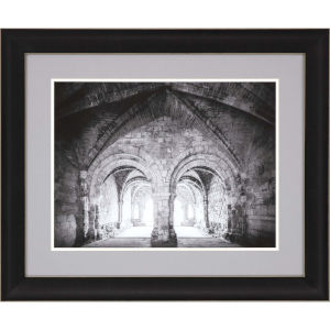 Libby Langdon Travel View I Gray Framed Wall Art