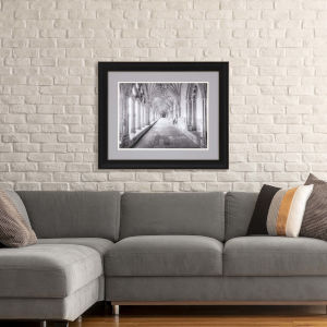 Libby Langdon Travel View II Gray Framed Wall Art