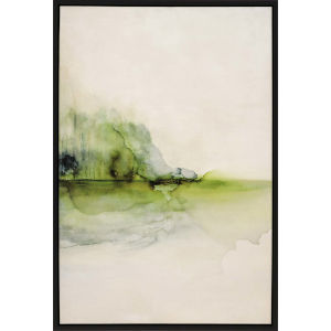 Evanesce II Green Framed Wall Art