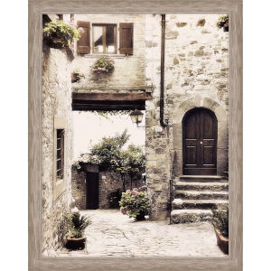 Courtyard Neutral Framed Wall Art