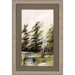 Evergreen 1 Green Framed Wall Art