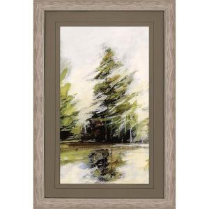 Evergreen 2 Green Framed Wall Art