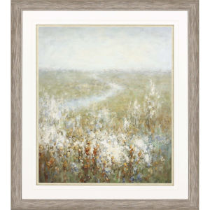 Endless Fields Multicolor Framed Wall Art
