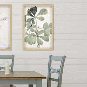 Green 32 H x 22 W-Inch Blom Ritning Wall Art