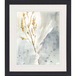 Wild Grass II Yellow Framed Art
