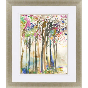 Sunny Path II Multicolor Framed Art