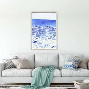 Beachy Keen Blue Canvas