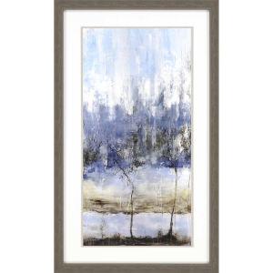 Anchored in Blue I Blue Framed Art
