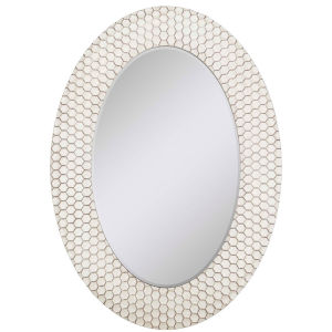 Honeycomb Cell Neutral 34-Inch Mirror