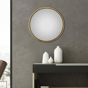 Metallic 32 H x 32 W-Inch Kenzi Mirror