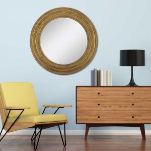Metallic 34 H x 34 W-Inch Maxwell Mirror