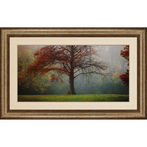 Late Autumn Morning by Horner: 32 x 52-Inch Framed Wall Art