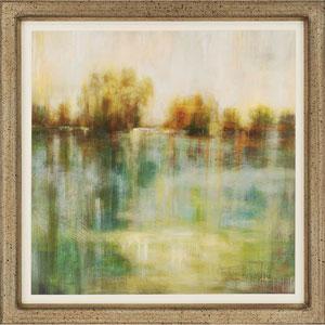 Summerfield II by Addyman: 41 x 41-Inch Framed Wall Art