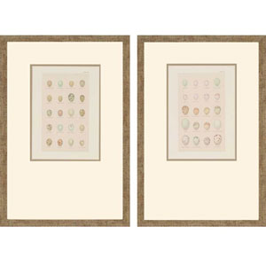 Egg Study by Seebohm: 21 x 14-Inch Framed Wall Art, Set of Two