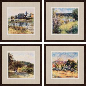 Renoir Serie by Renoir: 20 x 20-Inch Wall Art, Set of Four