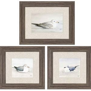 In the Loop by Coggins: 23 x 28-Inch Framed Wall Art, Set of Three