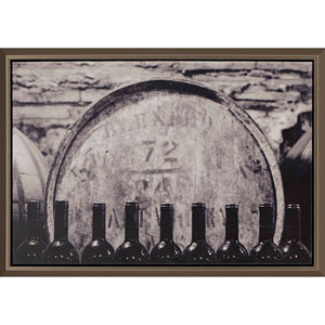Wine Barrel, Framed Culinary Artwork By: Groton