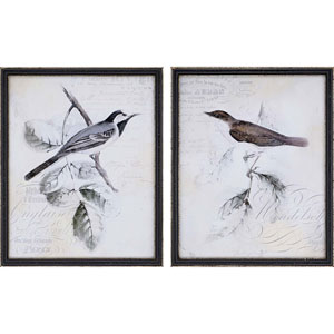 Gould I by Studio W: 22 X 18-Inch Framed Art , Set of Two