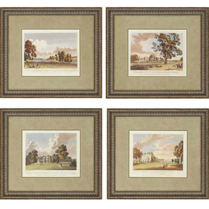 Scenes by Kearsly: 21 x 23-Inch Framed Wall Art, Set of Four