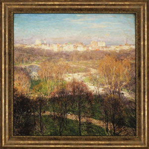 Early Spring by Metcalf: 44 x 44-Inch Framed Wall Art