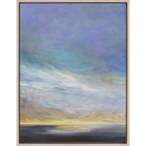 Coastal Clouds II by Finch: 41 H x 31 W-Inch Canvas Oil Wall Art