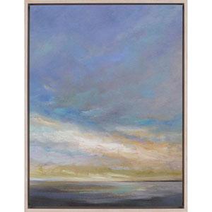 Coastal Clouds III by Finch: 41 H x 31 W-Inch Canvas Oil Wall Art