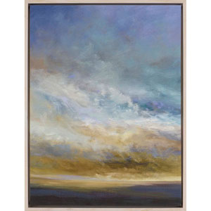 Coastal Clouds I by Finch: 41 H x 31 W-Inch Canvas Oil Wall Art