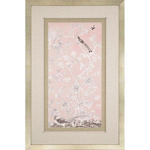 Blush Chinoiserie I By: McCavitt, 51 x 33 In. Framed Art
