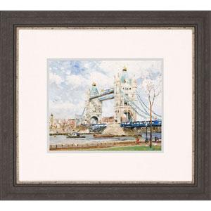 Tower Bridge, London by Kinkade: 37 x 33-Inch Wall Art