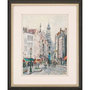 Brussels by Kinkade: 30 x 36-Inch Framed Art