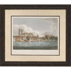 View of Westminster by Grieg: 38 x 44-Inch Framed Wall Art