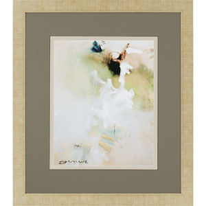 Overjoyed I by Sayilir: 33 x 29 Deluxe Framed Print