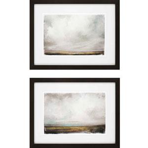 Eyes Full of Sky by Sayilir: 27 x 35-Inch Framed Wall Art, Set of Two