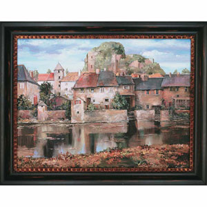 La Seyne-sur-Mer by Duvall: 38 x 48-Inch Framed Wall Art