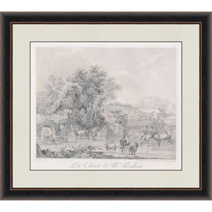Landscapes By Le Veau: 27 X 31 Framed Wall Art, Set of 2