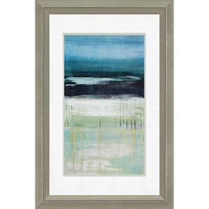 Sea and Sky By McAlpine: 35 x 29 Framed Wall Art, Set of 2