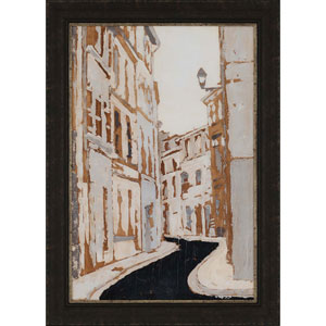 Streets of Paris II by Meagher: 42 x 30-Inch Framed Wall Art