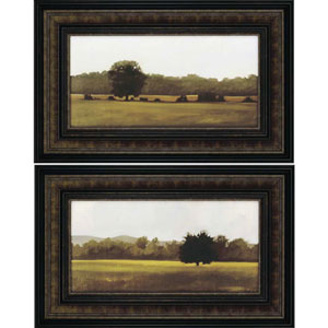 Resting/Silent by Lightell: 21 x 33 Deluxe Framed Print, Set of Two