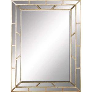Aged Gold Mirror