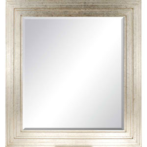 Aged Silver Nouvelle Mirror